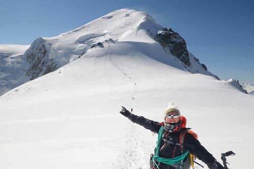 Alpinisme Monté Médio
