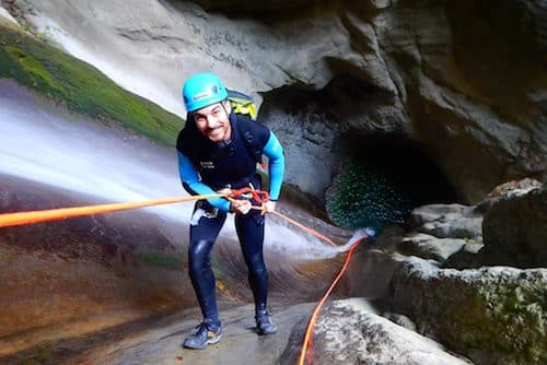 Canyoning Annecy Angon Monté Médio