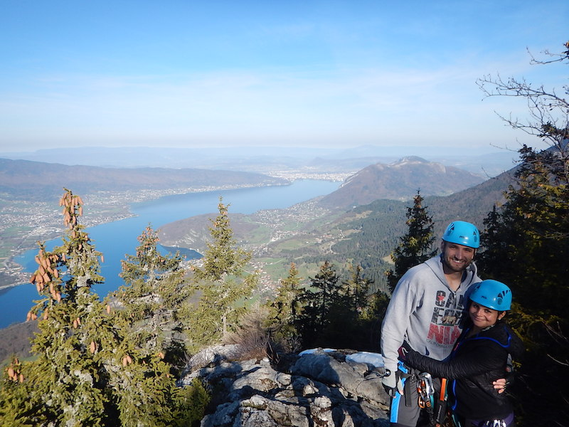 29 Mars 2017 – Via Feratta d'Annecy avec Océane et Steeven