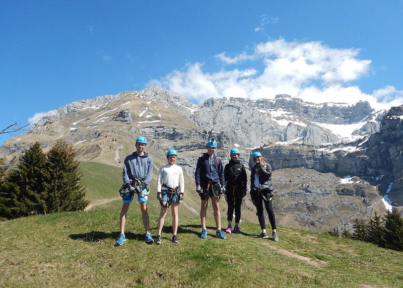 17 Avril 2017 – Via Ferrata d'Annecy avec Christine, Felix, Aurore, Clément et Cleo