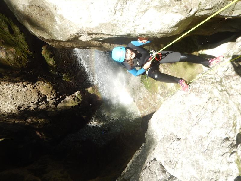 23 Juin – Maxime & Léa en canyoning avec Romain