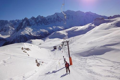 cours de ski la clusaz