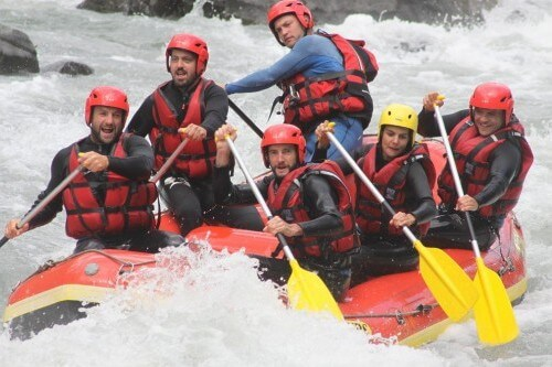 Activité Annecy Rafting Annecy Monté Médio