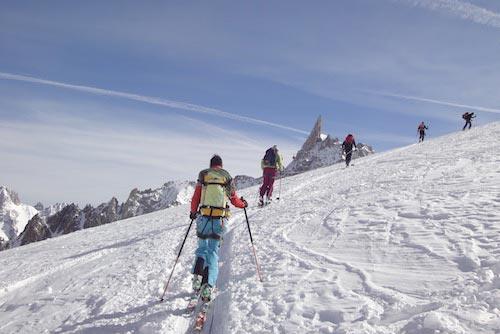 Activité Annecy Raid à ski