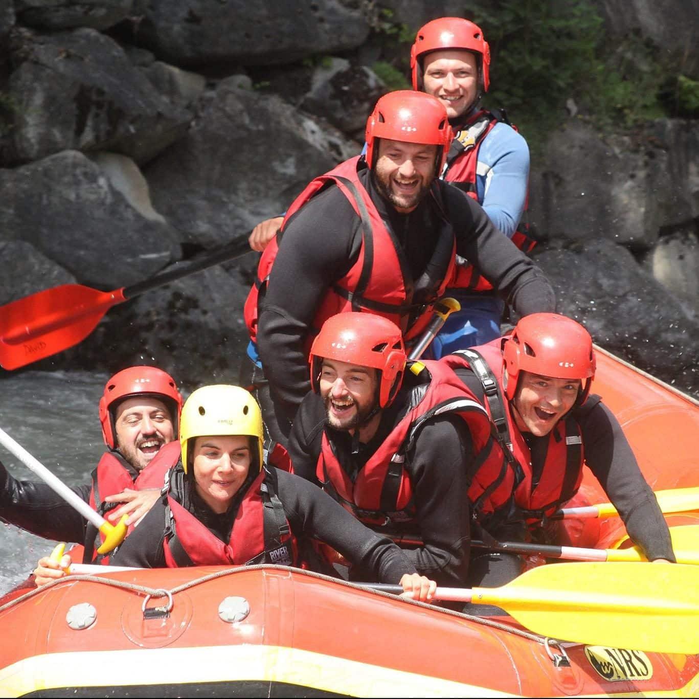 Sortie rafting sur l'Isère