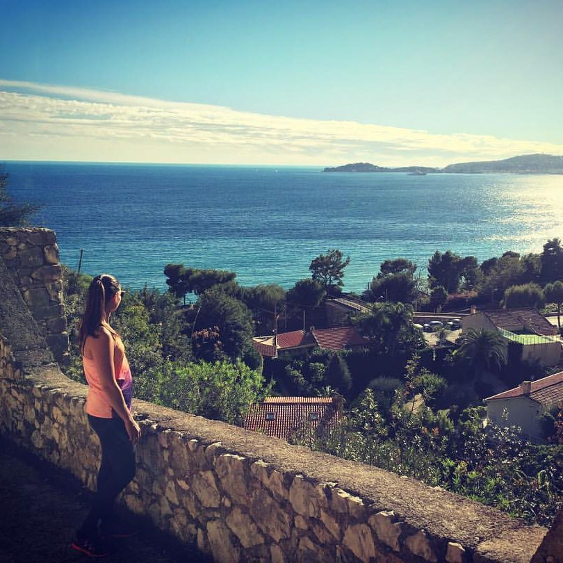 Petite randonnée sur la cote d'Azur