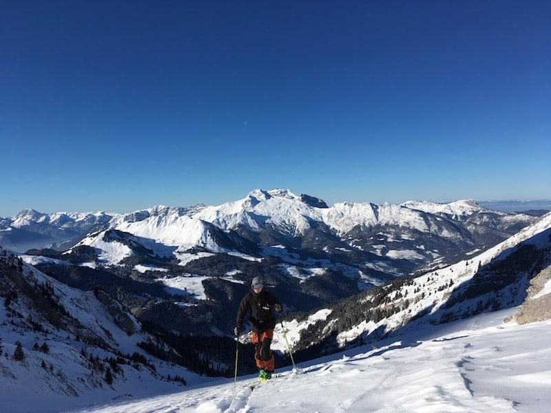 Ski de randonnée dans les Aravis – Blonnière