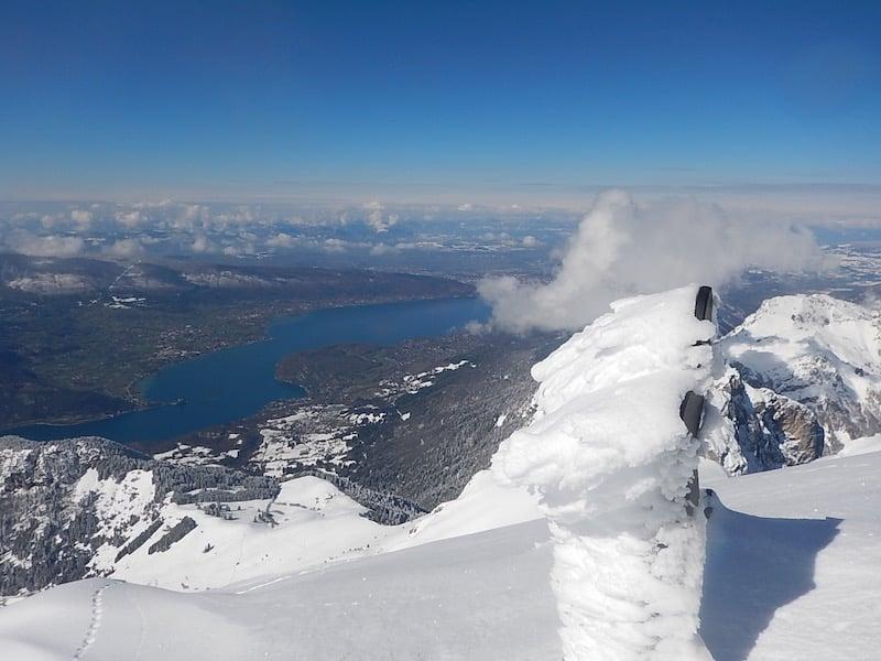 Ski de randonnée la Tournette : la grande classique
