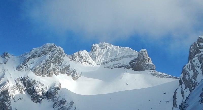 Une journée à la Clusaz en ski hors piste