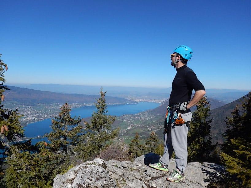 8 avril 2017 – Via Ferrata d'Annecy avec Mattia et Mathieu
