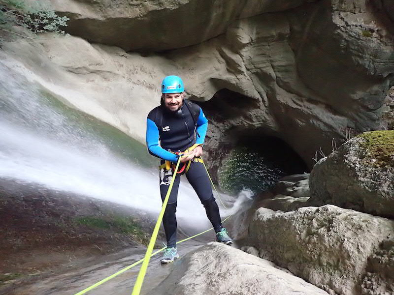Canyon Angon Canyoning Annecy Monté Médio