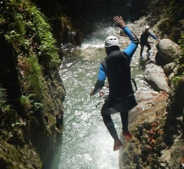 Canyon Montmin Monté Médio 01