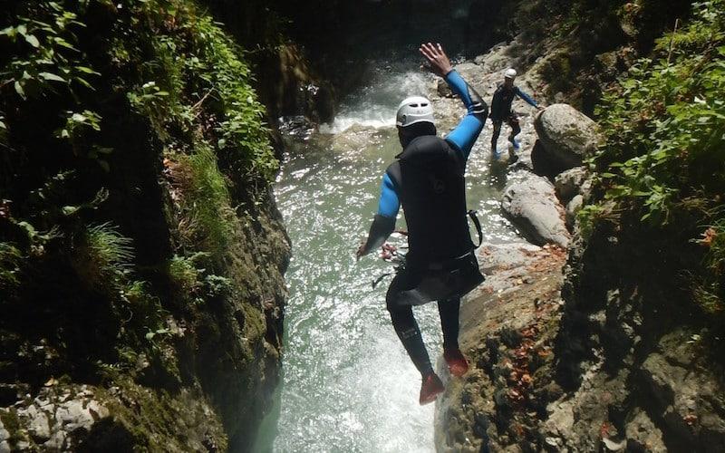 Canyon Montmin : faites le plein de sensations en canyoning
