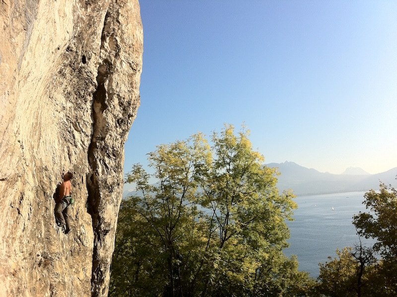 Sites escalade Annecy Biclope