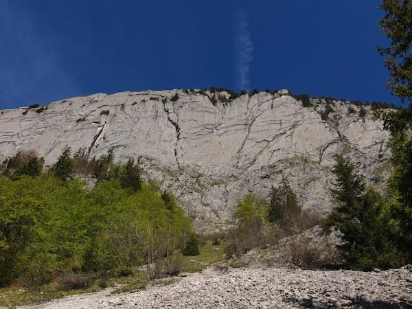 Sites escalade Annecy Grande Voie Falaise du Sapey
