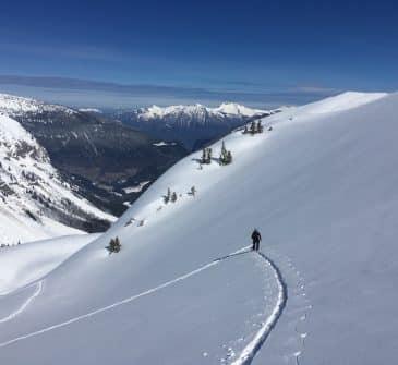 Ski de randonnée Aravis Pointe de la Carmélite