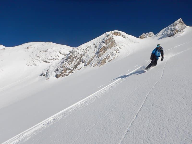 Ski de randonnée aravis combe de Paccaly