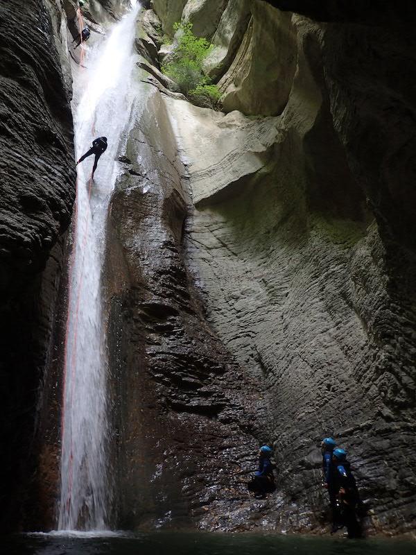 Ou faire du canyoning à Annecy - Le canyon d'Angon