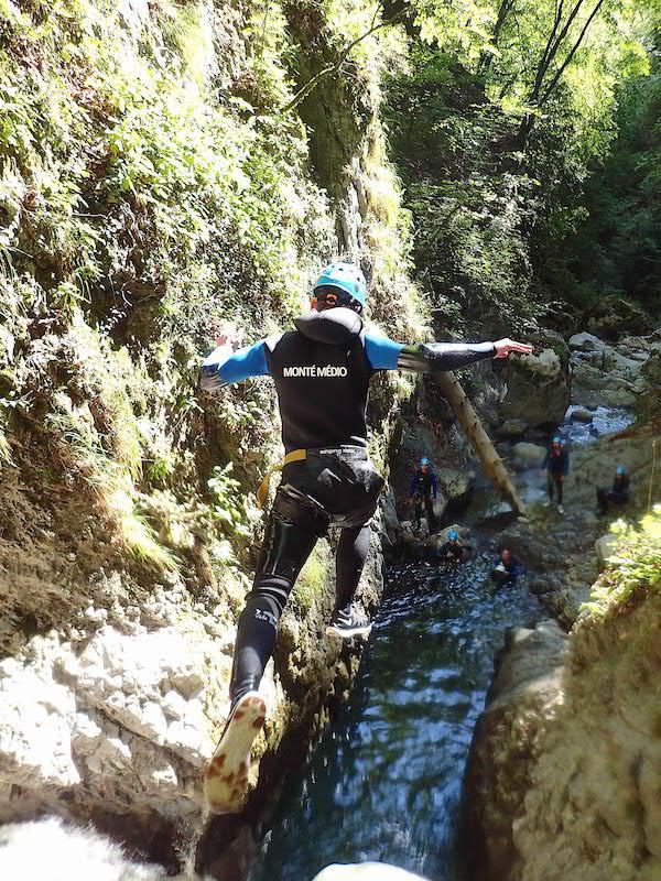 Ou faire du canyoning à Annecy - Le canyon de Montmin
