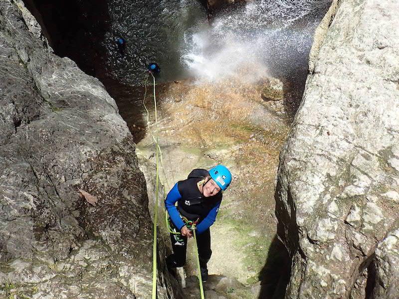 Où faire du canyoning à Annecy? Les plus beaux canyons du lac d'Annecy