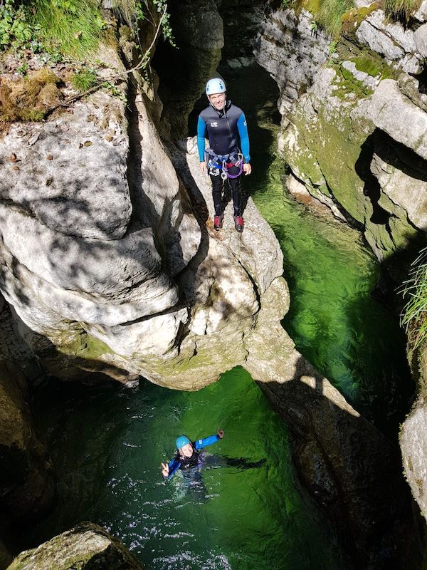 Où faire du canyoning à coté de Genève Canyon de Croiserette dans le Jura