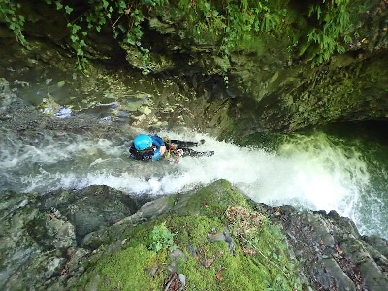 Où faire du canyoning à coté de Genève Canyon de Montmin Haute Savoie Lac d Annecy.