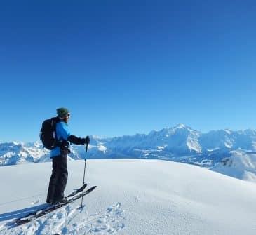 Ou faire du ski de randonnée autour d'Annecy? Les Combes des Aravis