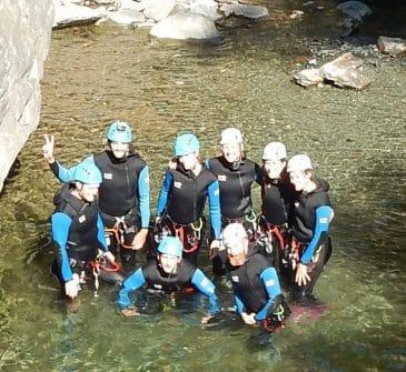 Canyon de Chalamy - Italie - Le canyoning à l'italienne