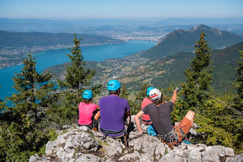 La Via Tyro : Via Ferrata et Tyroliennes à Annecy