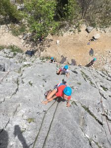 Escalade Facile Annecy : La Culaz dans les Aravis