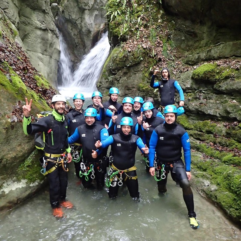 EVG Canyoning Activité Annecy 2