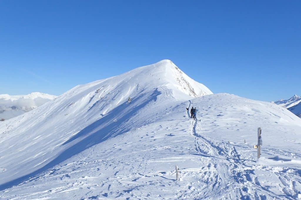 Ou faire du ski de randonnée autour d'Annecy? Le Sulens