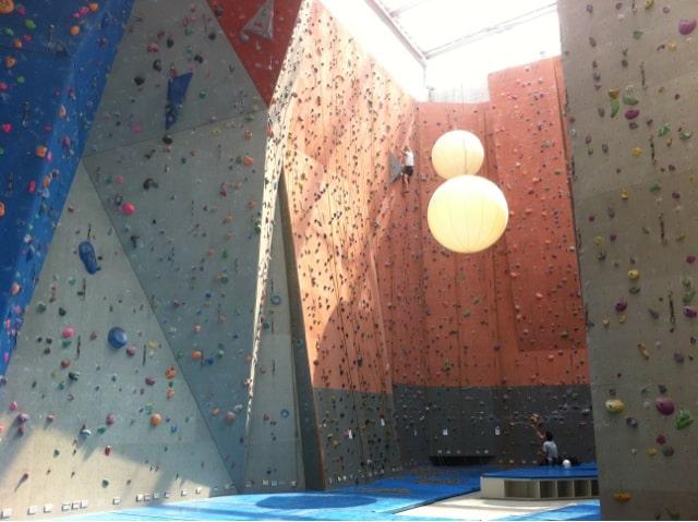 Salle escalade Annecy Vitam Parc