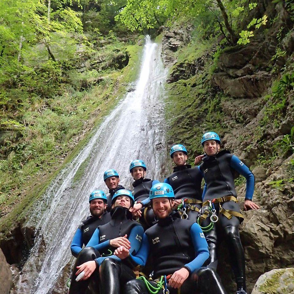Toujours de belles descentes dans le canyon de Montmin