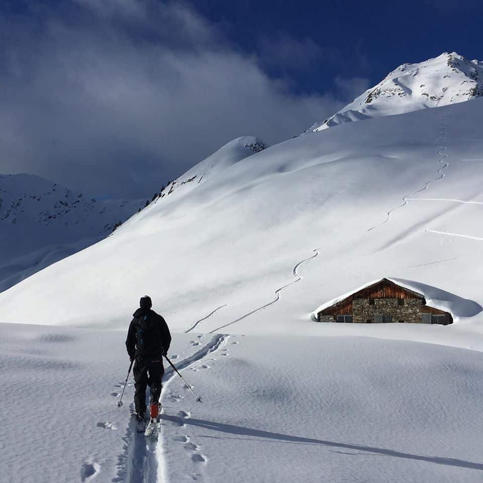 Ski de randonnée dans le massif du Beaufortain