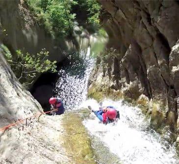Canyon de la Bollene
