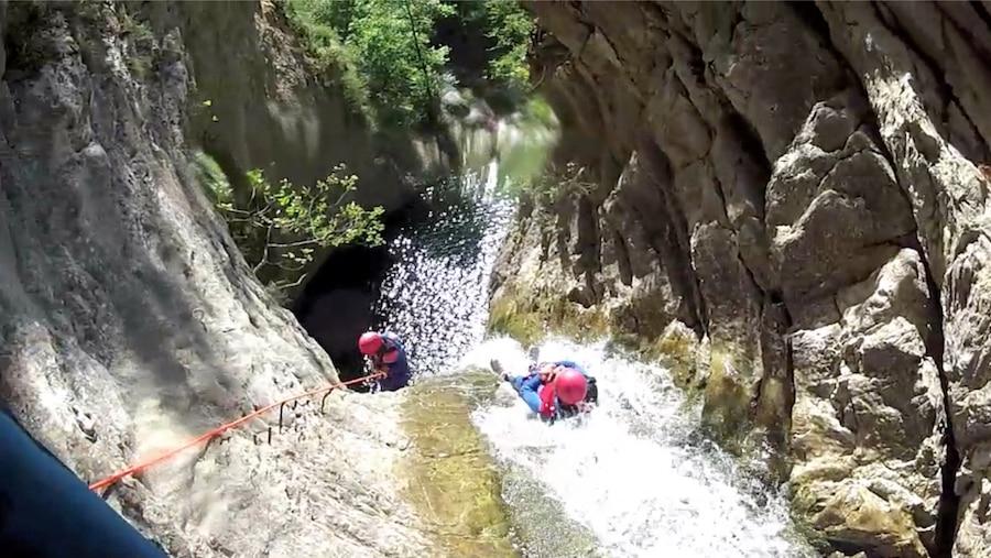Canyoning dans les Alpes Maritimes : la Bollène