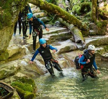 Canyoning Haute Savoie Monté Médio