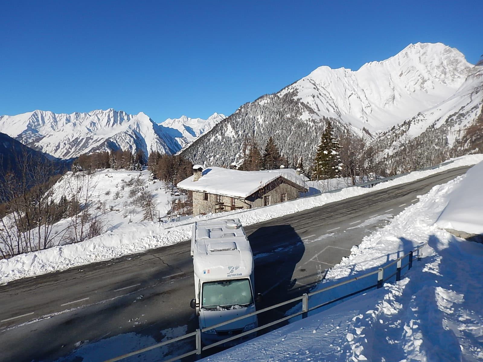 Ski de randonnée dans la vallée d'Aoste et à Chamonix