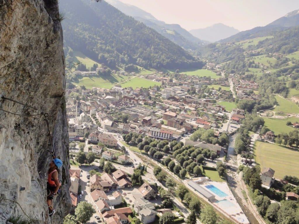 Via Ferrata Haute Savoie Thônes