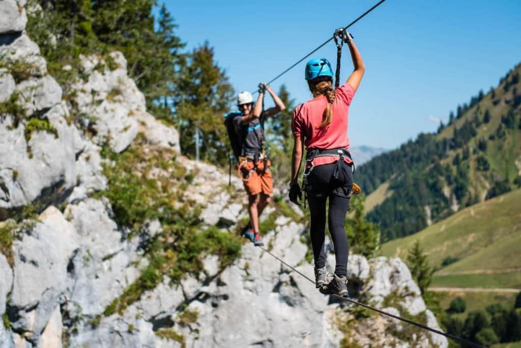 Via Ferrata Haute Savoie - La Via Tyro à Annecy