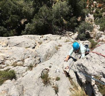 Les Dalles Grises : Première grande voie d'escalade dans les gorges du Verdon