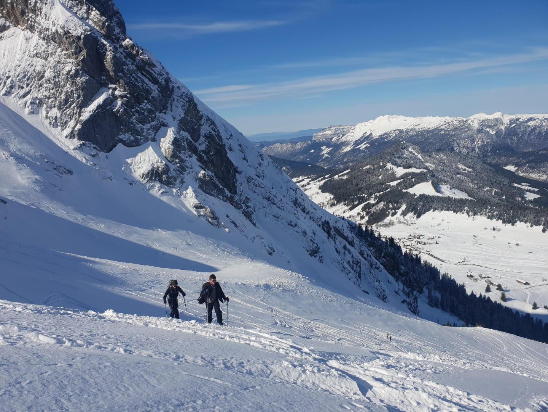 Ski de randonnée Trou de la Mouche