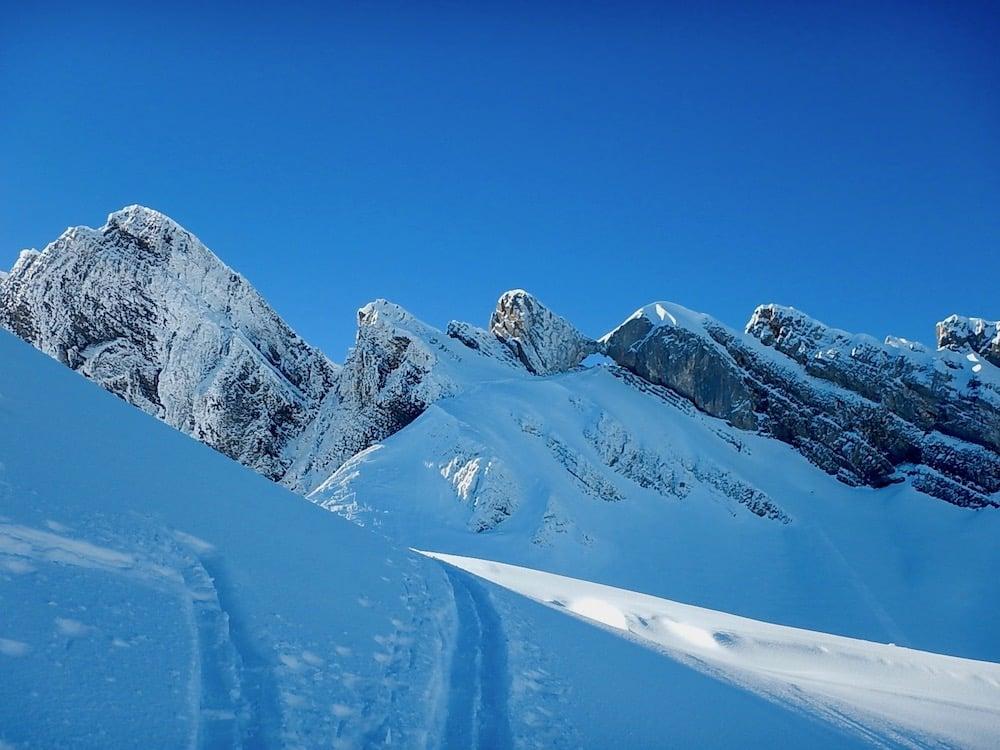 Ski de randonnée Trou de la Mouche 2