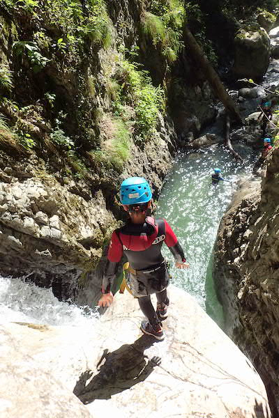 canyoning-annecy-montmin