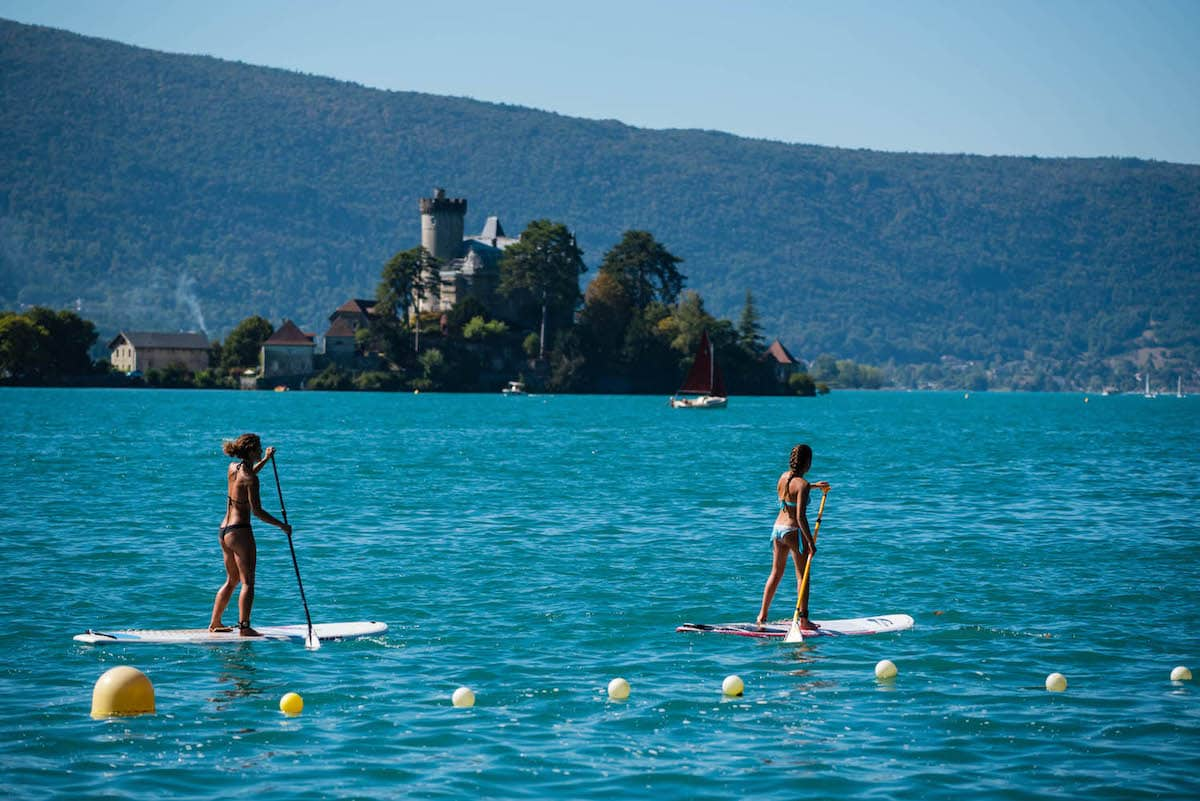 Stand Up Paddle Annecy – Canyoning Annecy et Sport Monté Médio