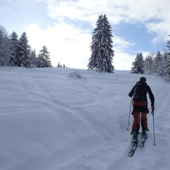 Ski de randonnée Sulens