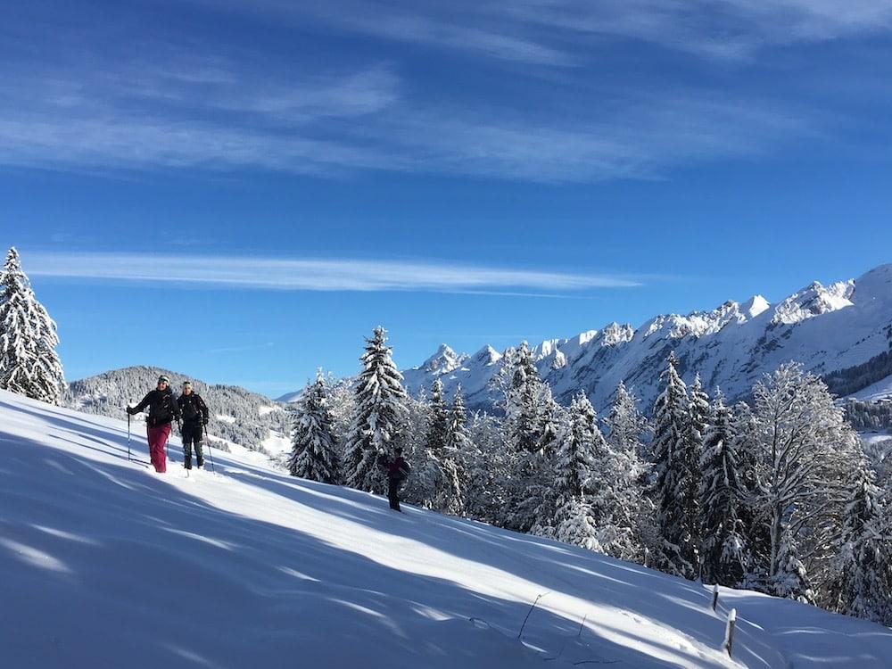 Ski de randonnée demi journée la clusaz