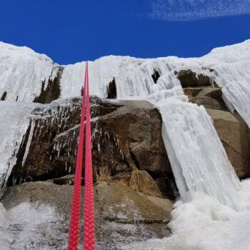 Ice Climbing Monté Médio