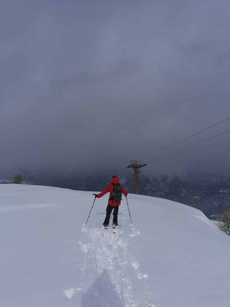 Ski de randonnée Briançon Chantemerle Serre Chevalier
